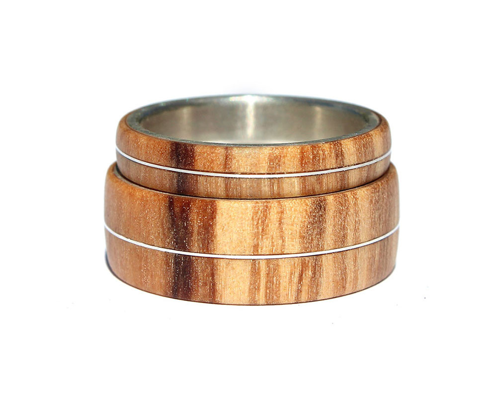 Metal Wood Ring Archives Wooden Rings