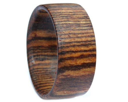 Bocote custom wood rings handmade for men