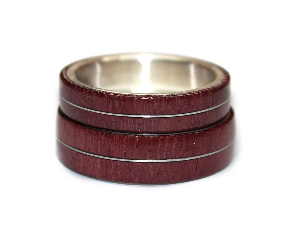 toe rings in online voylla stone product sterling silver encrusted maroon buy