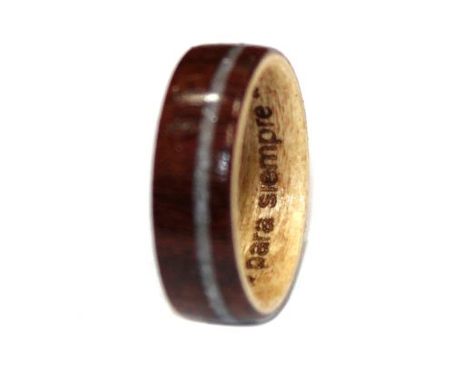 Wooden Ring Laser Engraving