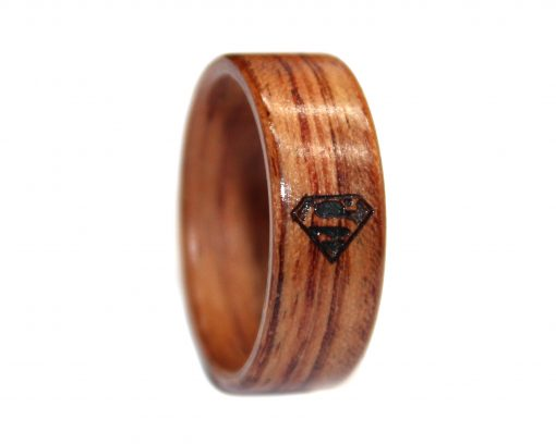 honduras rosewood and outside superman engraving