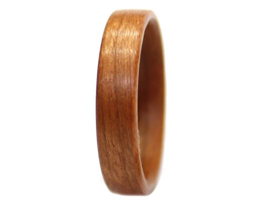 Birch wooden ring bentwood