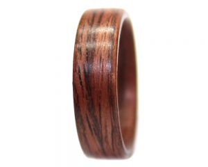 East Indian Rosewood wooden ring bentwood