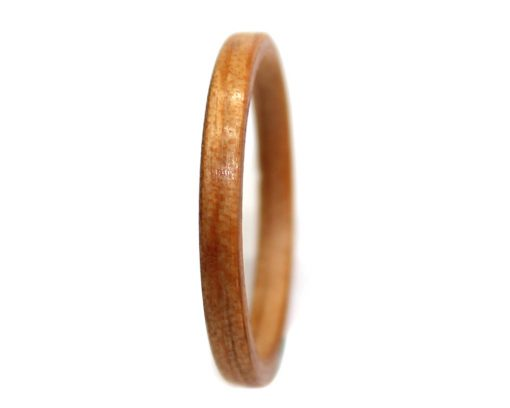 Heart Pine wood ring thin bentwood