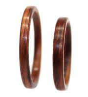 Honduras Rosewood wood rings thin bentwood