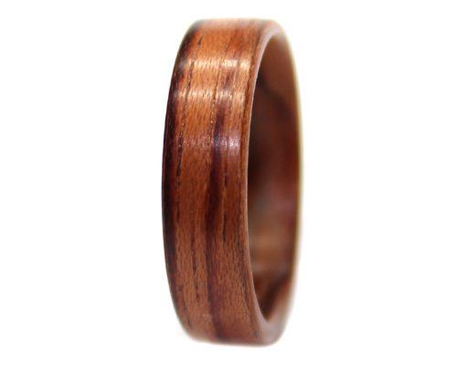 Honduras Rosewood wooden ring bentwood