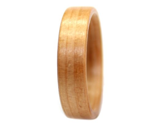 Pine wooden ring bentwood