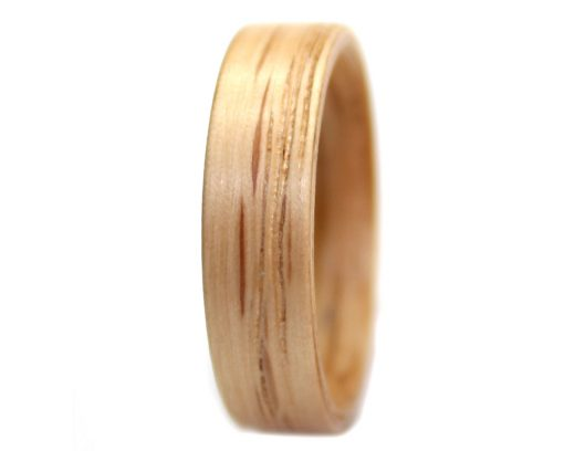 Red Oak wooden ring bentwood