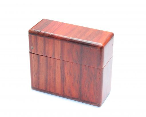 rosewood ring box magnetic lid for wood rings