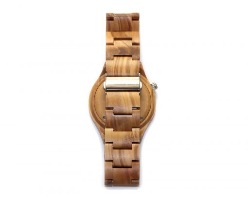 olivewood wooden watches wood watch back