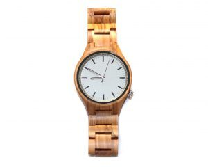 olivewood wooden watches wood watch face