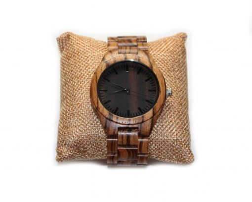 zebrawood wooden watches wood watch