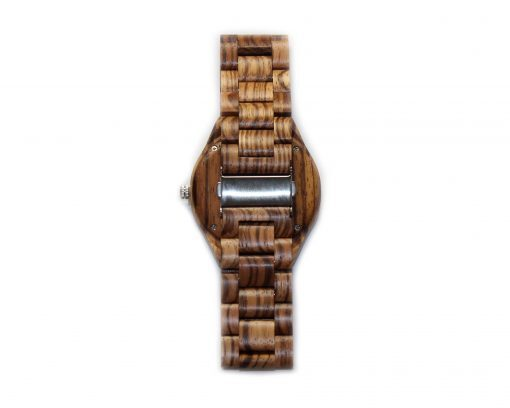 zebrawood wooden watches wood watch band