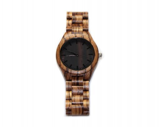 zebrawood wooden watches wood watch face