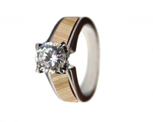 maple wood wedding rings