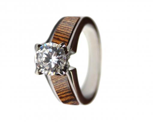 wooden wedding ring bocote